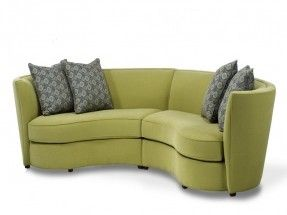 Small Sectional Sofas Small Curved Sectional Sofa For Small Living