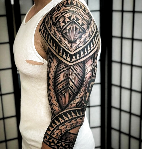 Cool Full Arm Sleeve Tattoo Ideas For Guys - Best Sleeve Tattoos For Men: Cool Full Sleeve Tattoo Ideas and Designs #tattoos #tattoosforguys #tattoosformen #tattooideas #tattoodesigns #sleeve #fullsleeve #armtattoo #tattooideas #smalltattoos