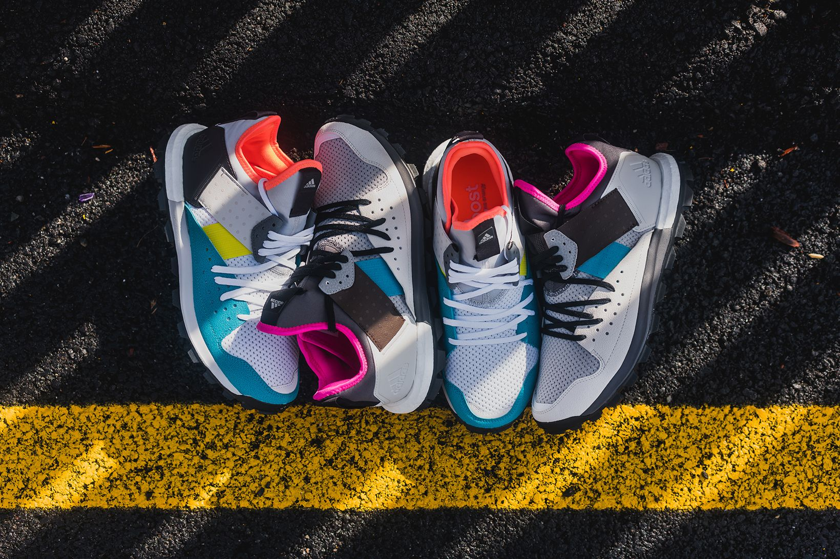 Kolor Puts Its Spin On The Adidas Response Trail Boost Adidas Response Adidas Ultra Boost Uncaged Sneakers