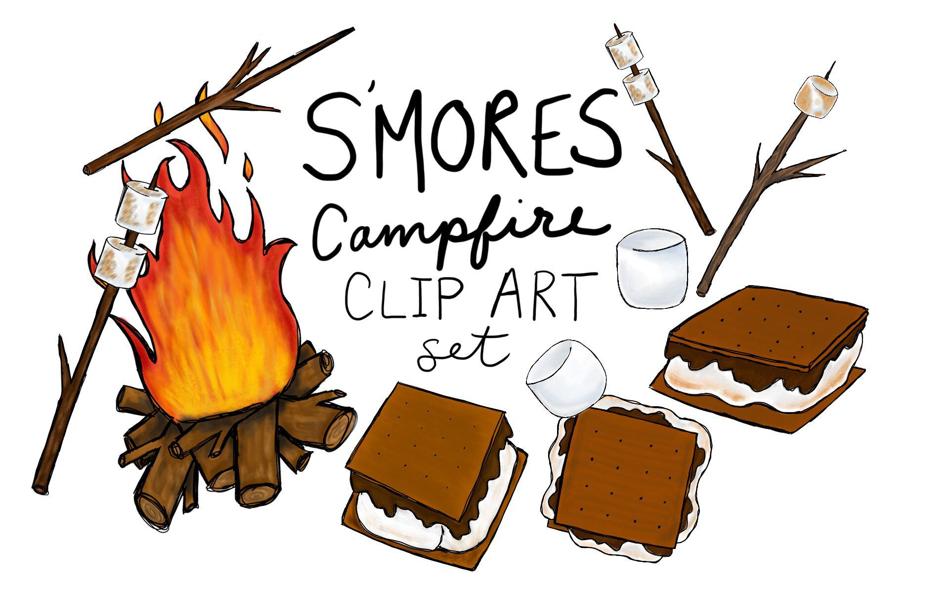 Free S'mores Cliparts, Download Free Clip Art, Free Clip Art on Clipart  Library