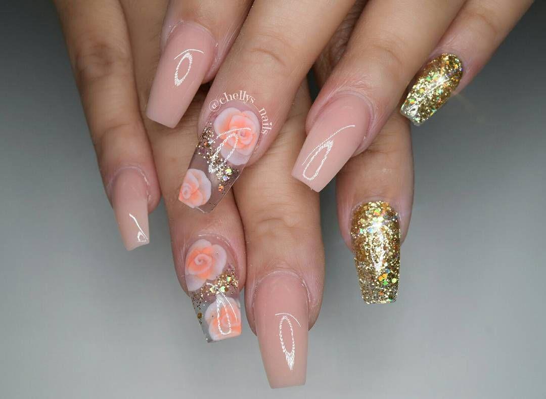 "Michelle Soto on Instagram: ""Birthday nails for @bellanena_17 nice ..."