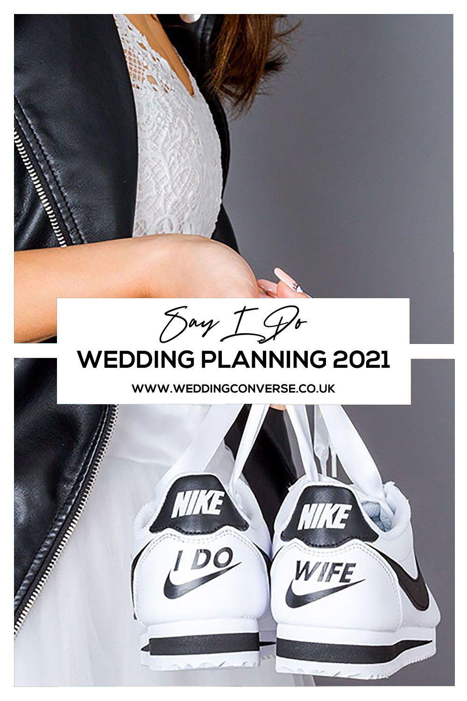 Custom Nike Wedding Sneakers L Custom Bride Groom Nike Cortez Wedding Sneakers Custom Wedding Shoes Wedding Shoes Bride