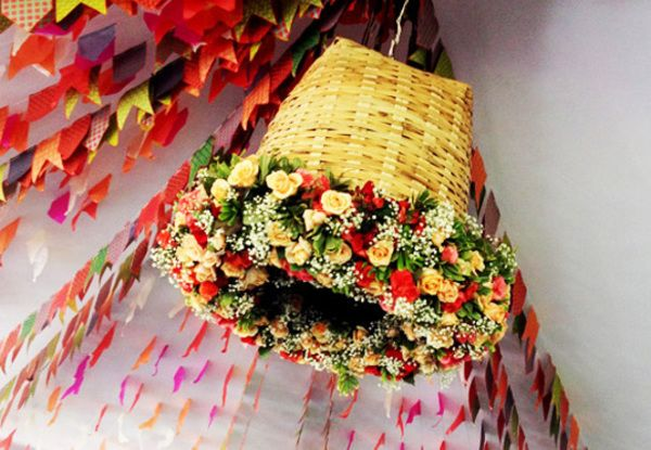 Ideias Para festa Junina 1 Decoraç u00e3o para festa junina, Decoraç u00e3o para festas e Dicas de decoraç u00e3o -> Decoração De Mesa De Festa Junina Infantil