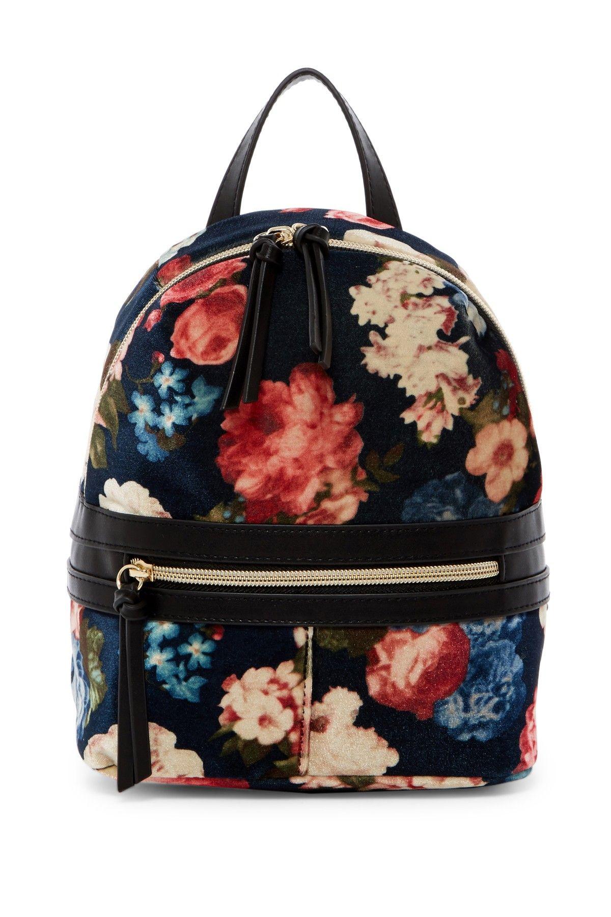 T-Shirt & Jeans T-Shirt & Jeans Floral Velvet Backpack HxqWyg