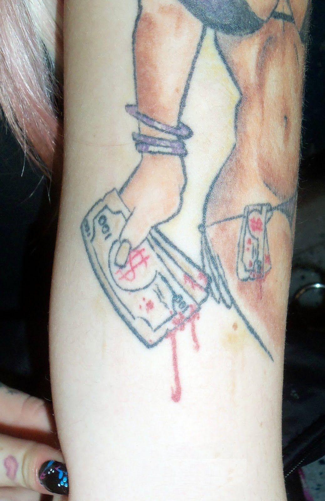 Ribbon Dollar Sign Tattoo Tribal Money Symbol Design Pictures