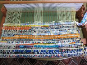 Thinking Out Loud Weaving A Rag Rug On The Rigid Heddle Loom Rigid Heddle Weaving Patterns Weaving Patterns Rigid Heddle Weaving