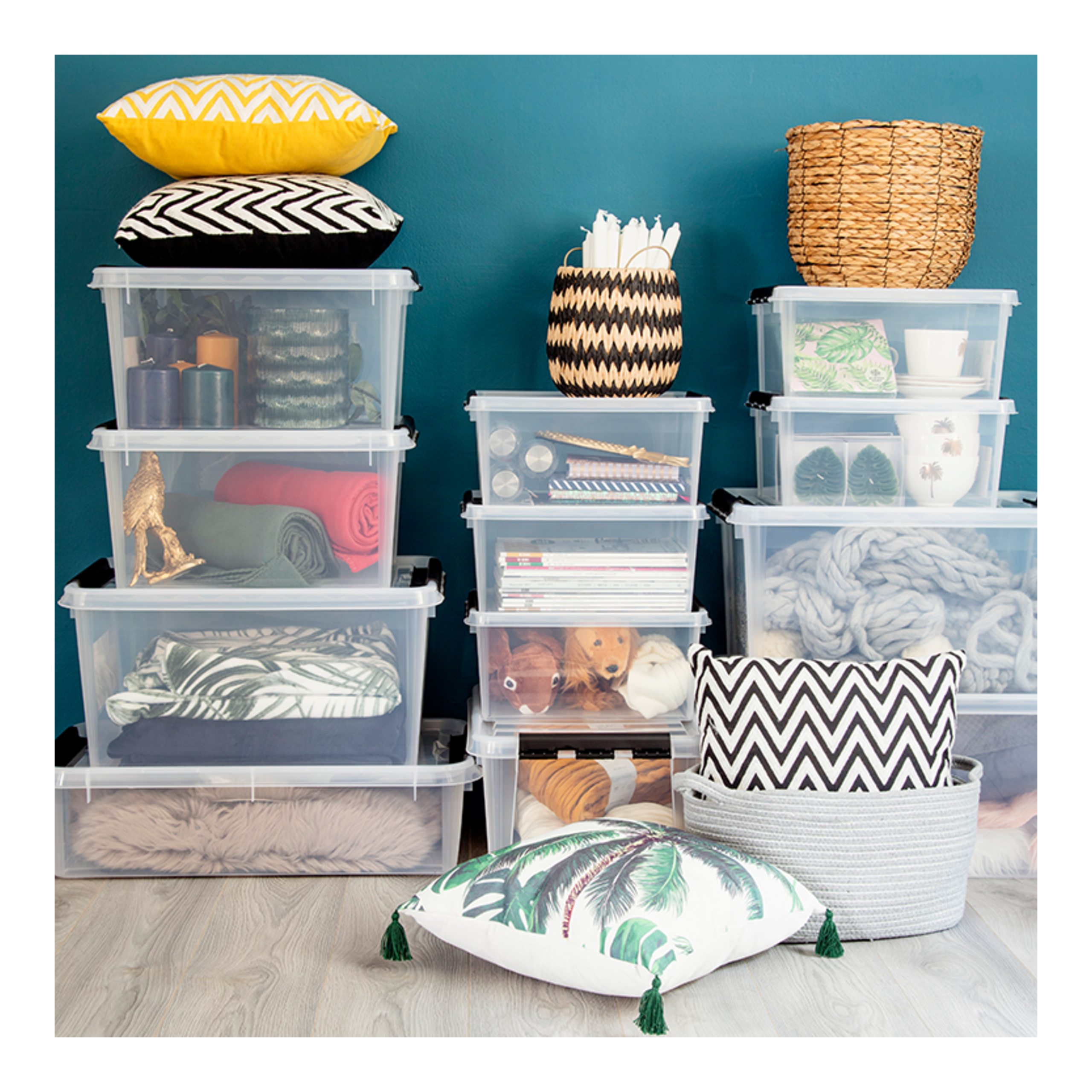 Photo of Smart storage Small space and many things can quickly result in clutter, but it is …