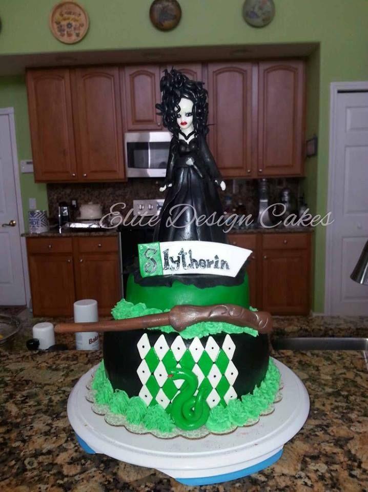 Bellatrix Lestrange Birthday Cake