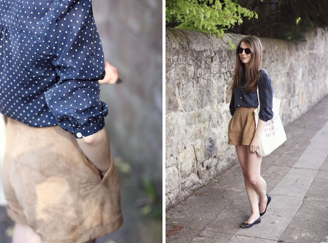 Foxtail + Fern | Vintage and Lifestyle Blog — Page 2 Cute shorts again.