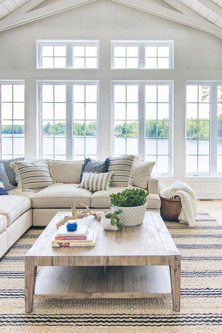 65 Beautiful Farmhouse Living Room Design Ideas Livingroomi