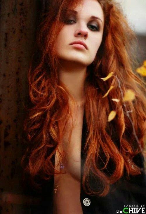 Female model redhead