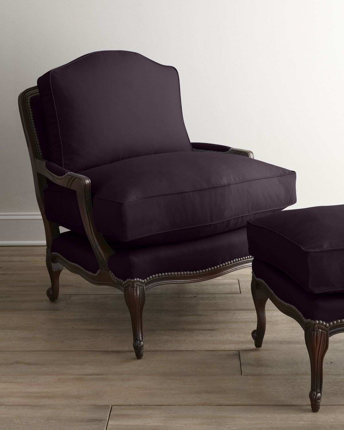 """Old Hickory Tannery """"Ellsworth"""" Collection Bergere Chair"""