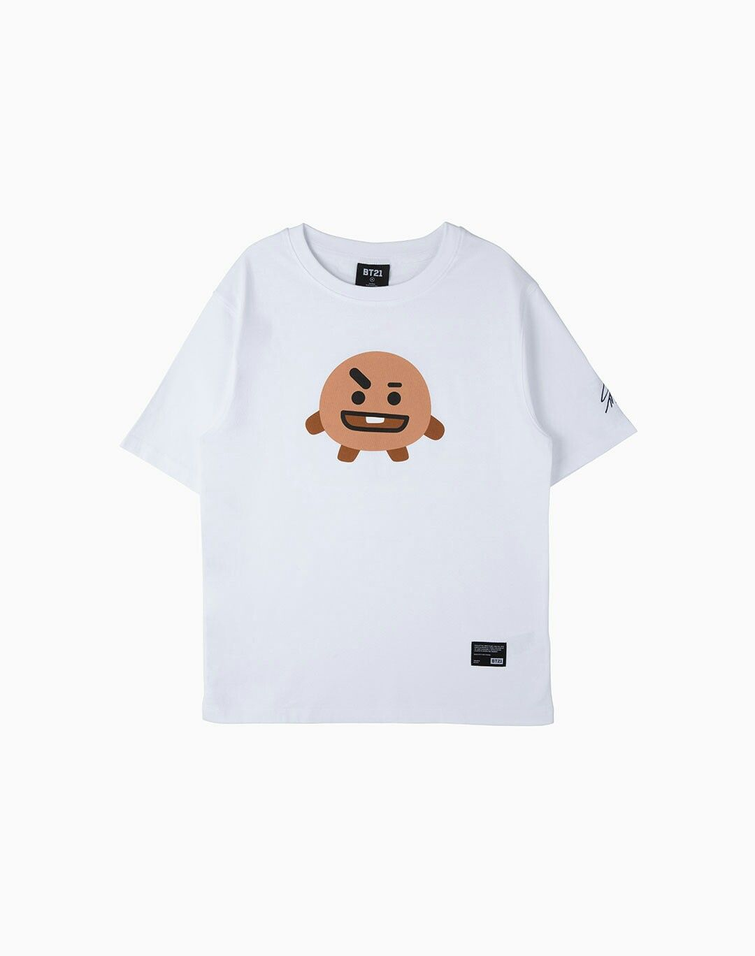 7b498064c7adb BT21 SHOOKY FACE GRAPHIC T-SHIRT | BT21 Shooky in 2019 | Mens tops ...