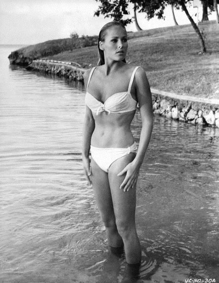 Wearing A Andress Film James During Scene Ursula From Bikini The IvY76mbgfy