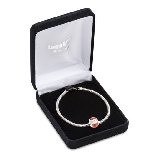 Daniels Jewelers :: Auburn University Bead on 8 inches bracelet