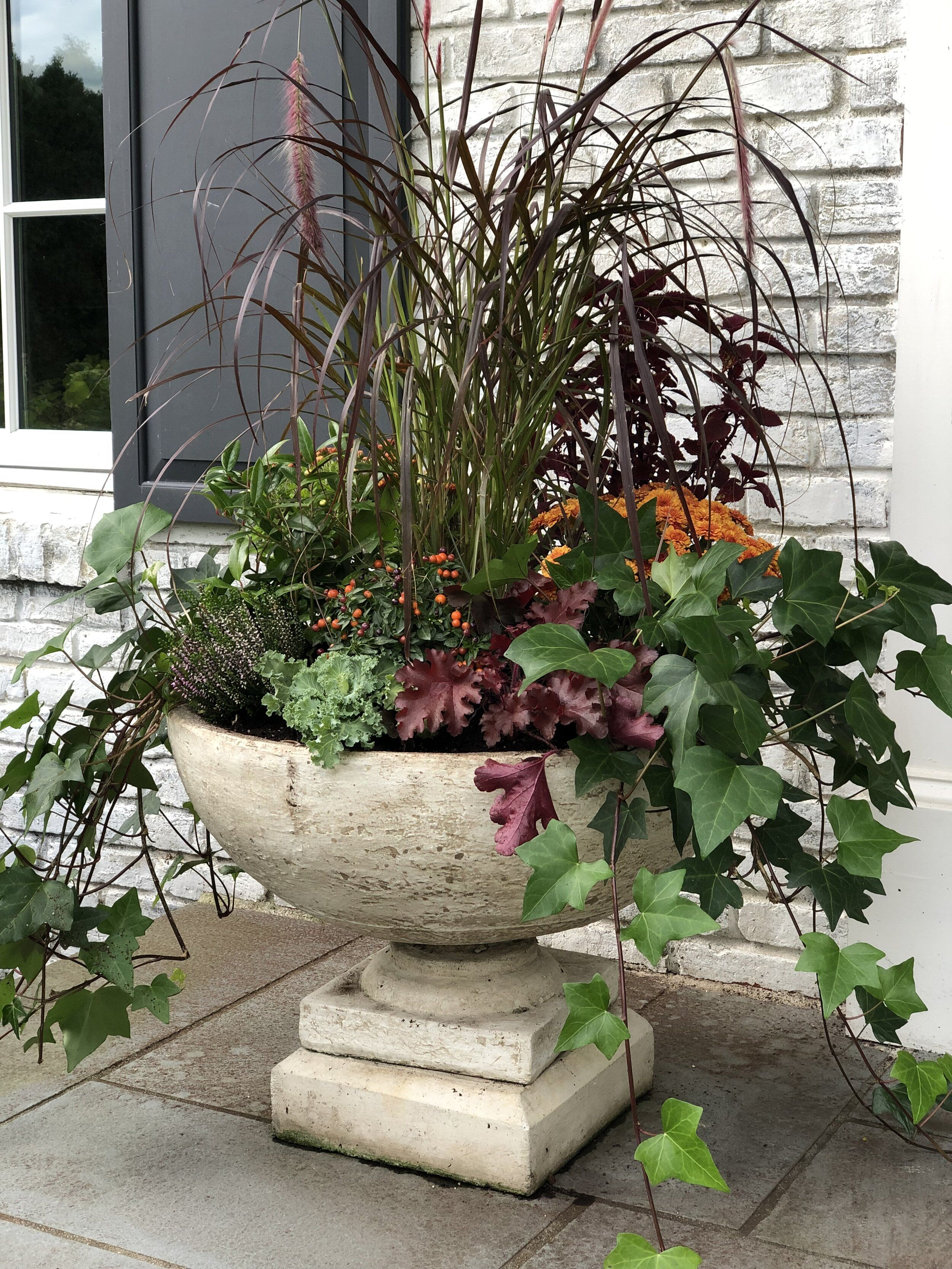 Fall Decorating Ideas For Your Front Entry Garden shop
