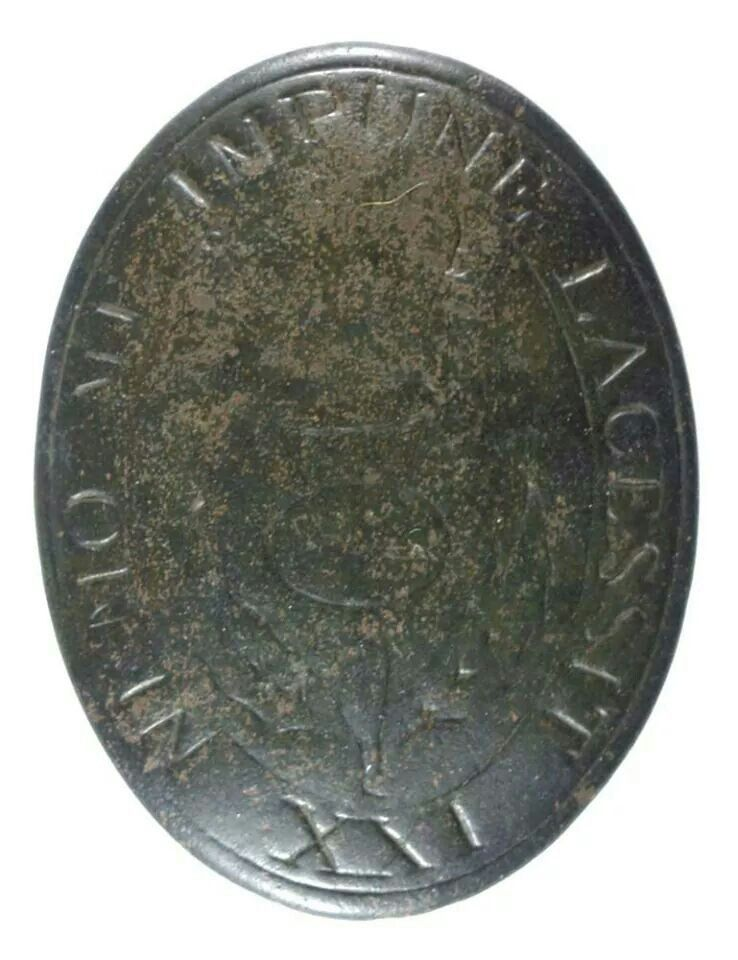 21st British Regiment of Foot shoulder belt plate found at