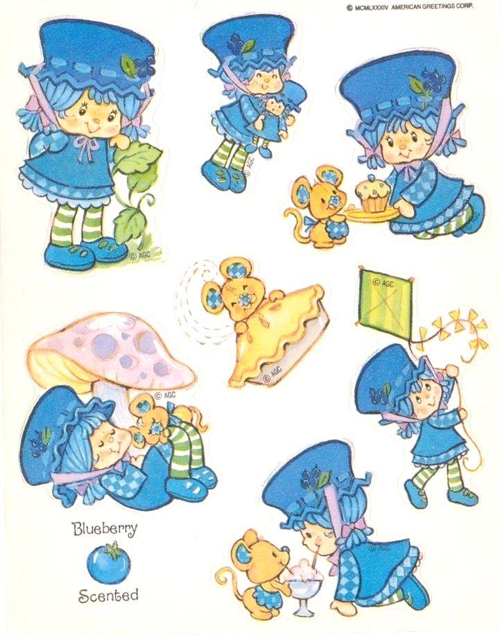 Blueberry Muffin | Strawberry Shortcake | Pinterest | Recuerdos ...