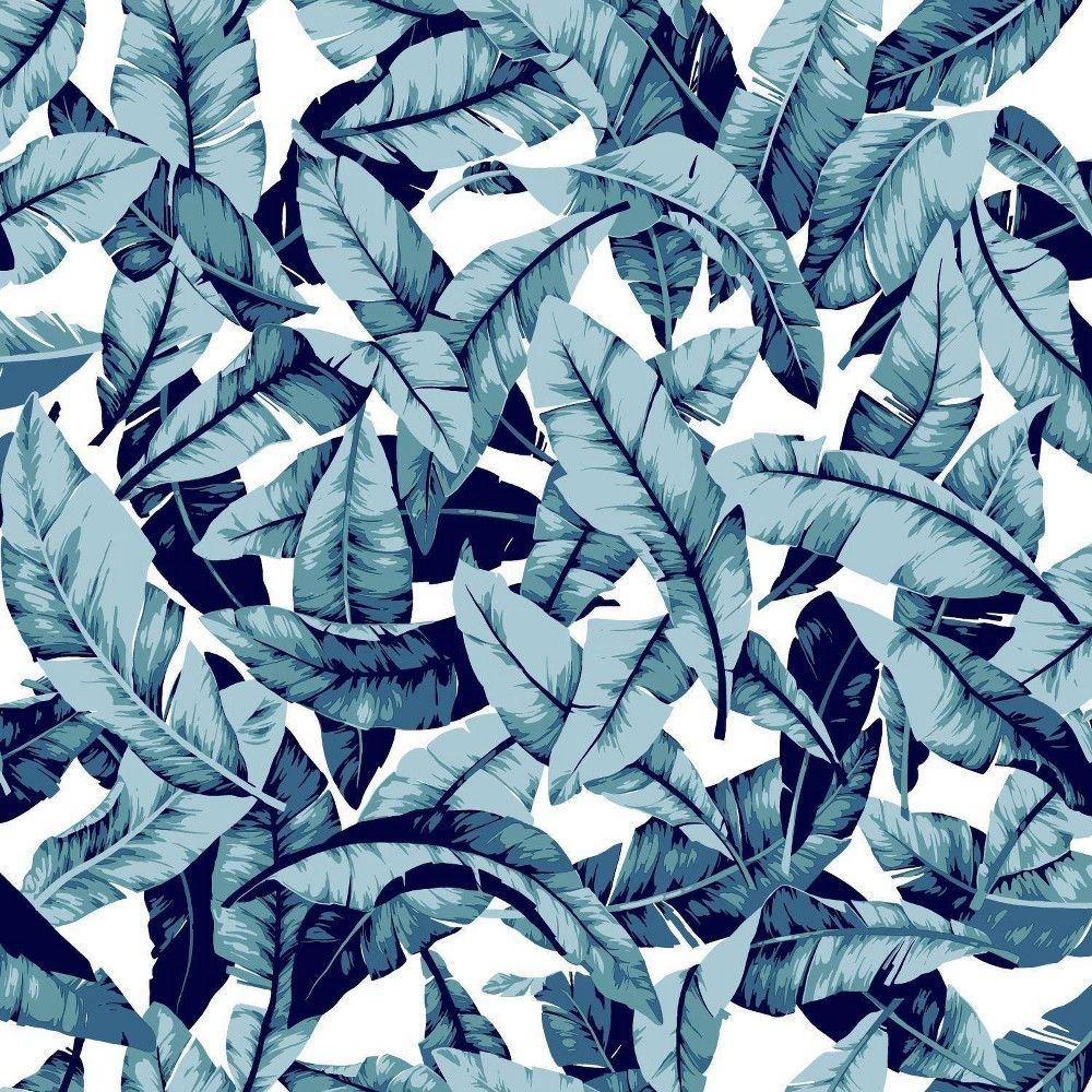 Roommates 28 2 Palm P S Wallpaper Blue Peel And Stick Wallpaper Wallpaper Peelable Wallpaper