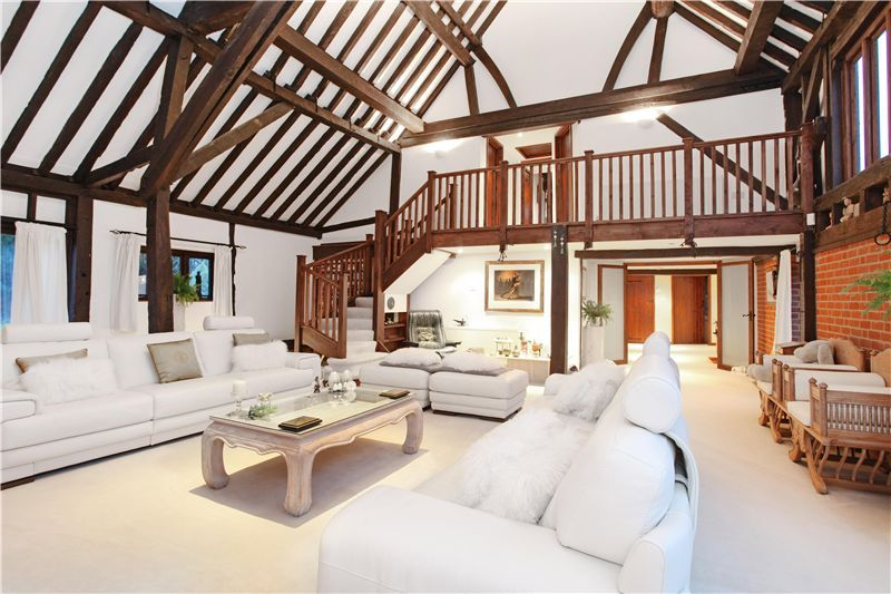Contemporary barn conversion. This barn is converted into a full house.