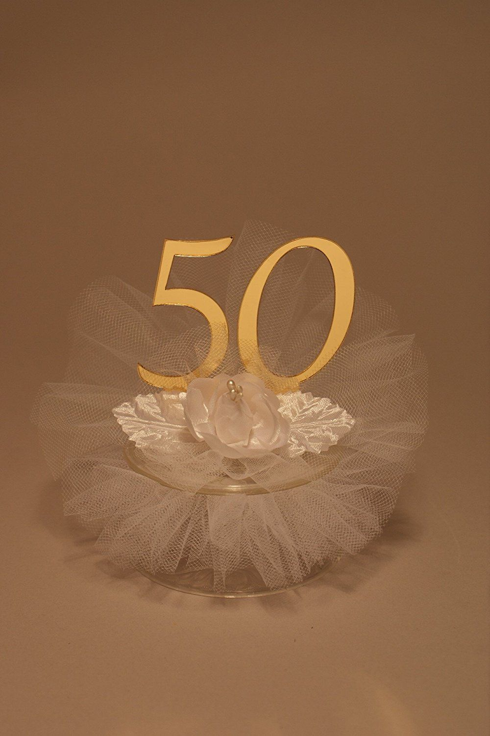50th Wedding Anniversary Cake Topper > Review more details