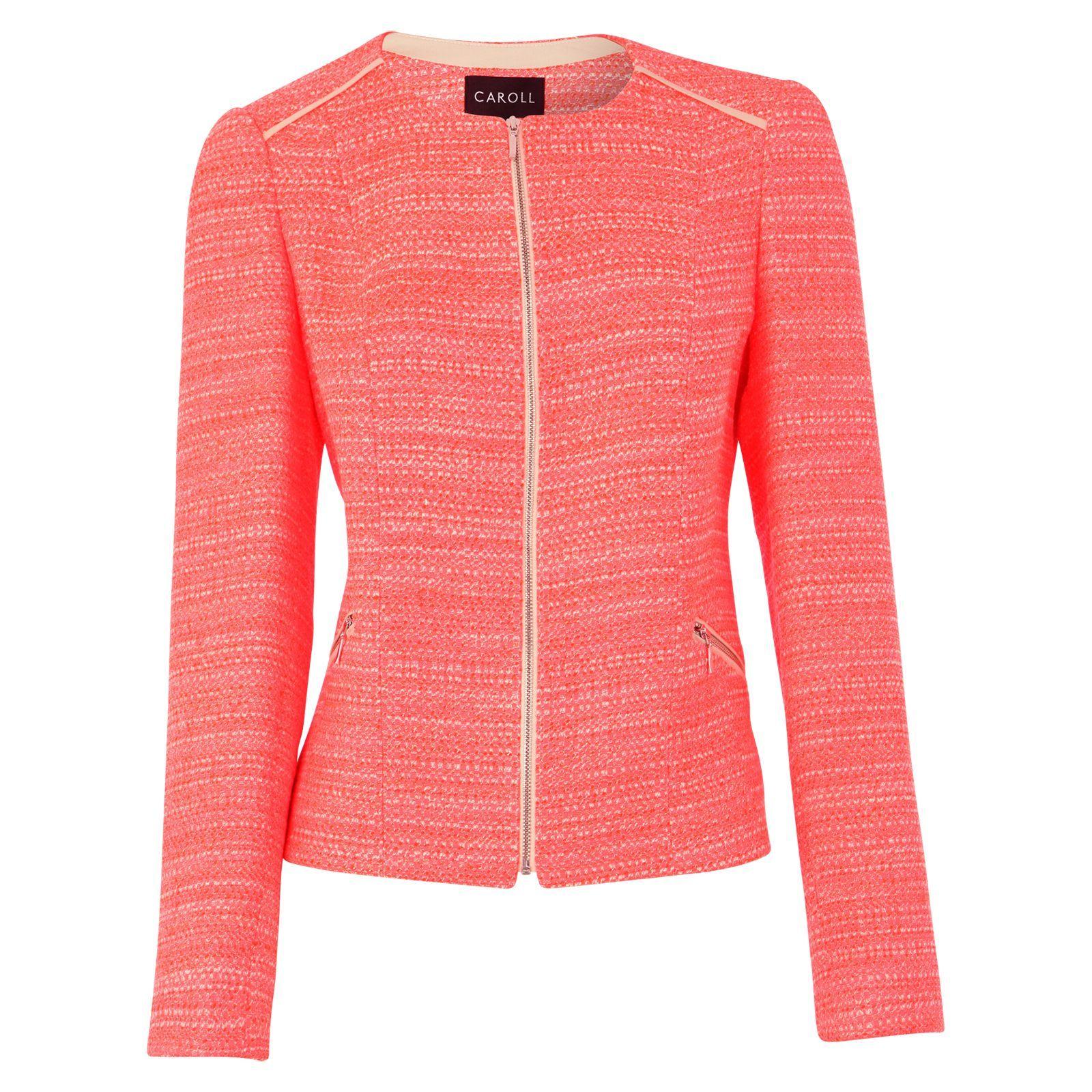 Veste Ella mandarine - Caroll   Brandalley   fashion   style ... b051d6fdab4