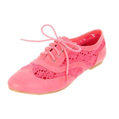 Wanted Shoes Women's Neat Lace-Up Oxford- just got these! but definitely in