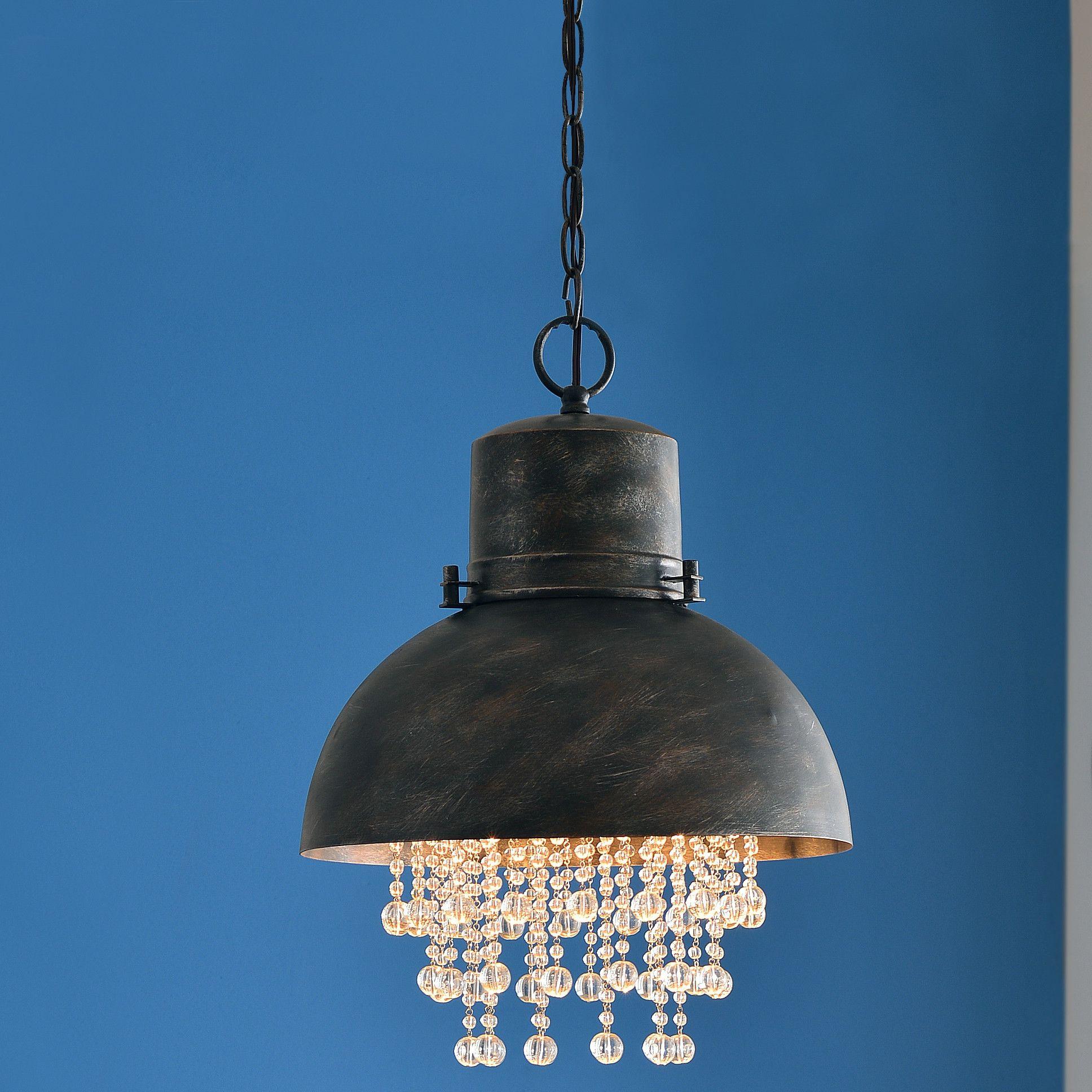 Trent Austin Design Mizpah 1 Light Inverted Pendant