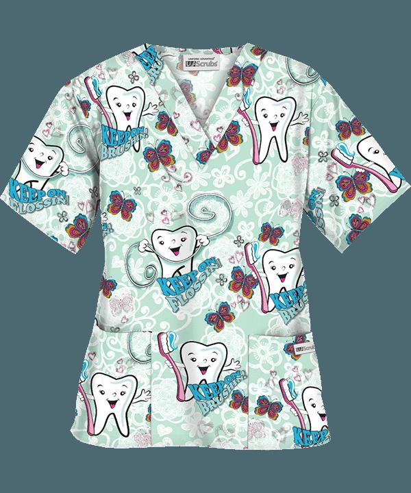 80757b5ac0a PC62KOW Dental Hygienist, Dental Assistant, Dental Scrubs, Top Dental, Keep  On,