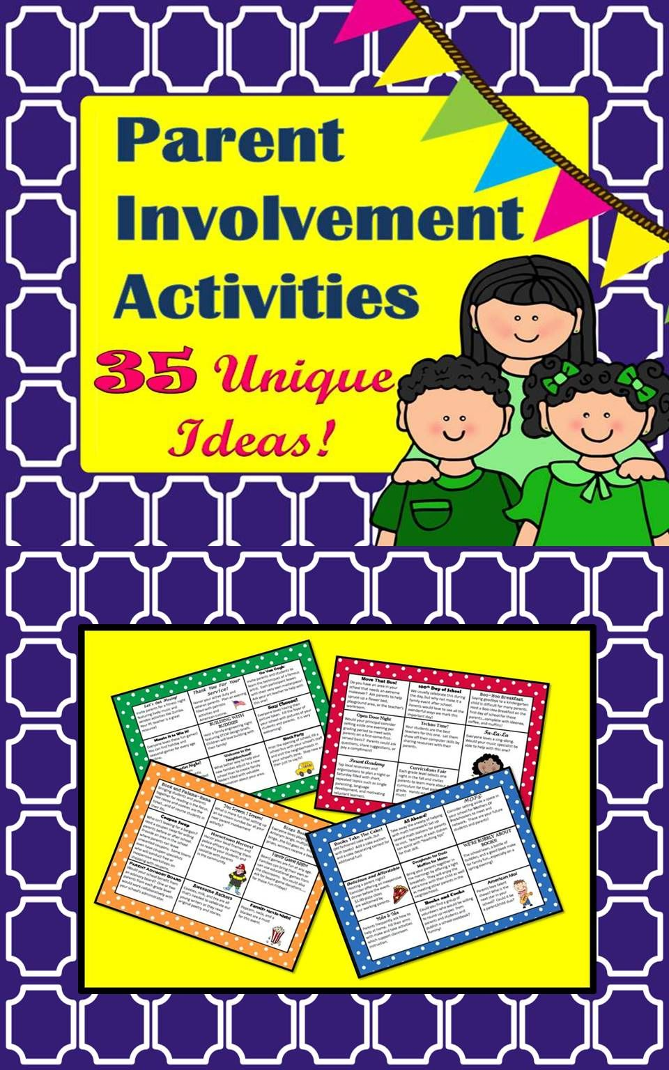 parent involvement activities | tpt misc. lessons | pinterest