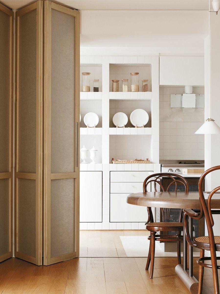 Cocina-galería - AD España, © diseño Andrée Putman Gabriel ...