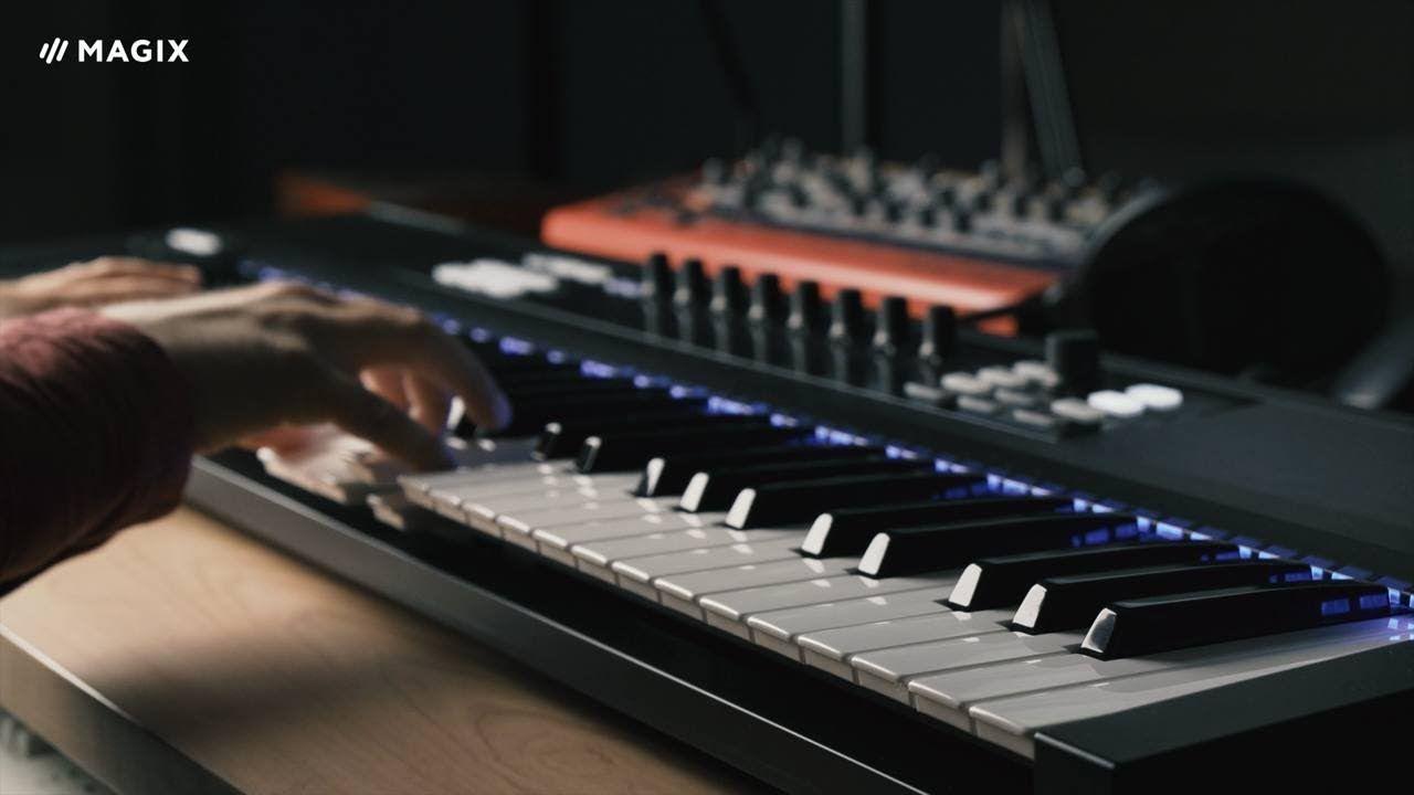 Magix samplitude music studio midi velocity dynamics