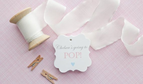 Baby Shower Favors Using Popcorn ~ Baby shower popcorn baby shower favors stampin up uk