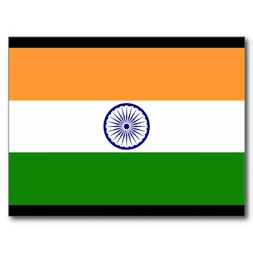 Republic of India Flag Postcard | Zazzle com | Print on