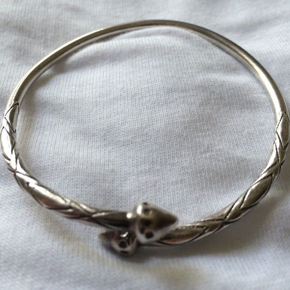 Sterling Silver Decorative Bangle West Indian Bangles Silver