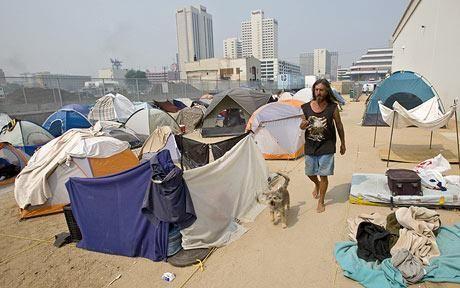 u0027Tent citiesu0027 of homeless on the rise across the US & Tent citiesu0027 of homeless on the rise across the US | Robert scott ...