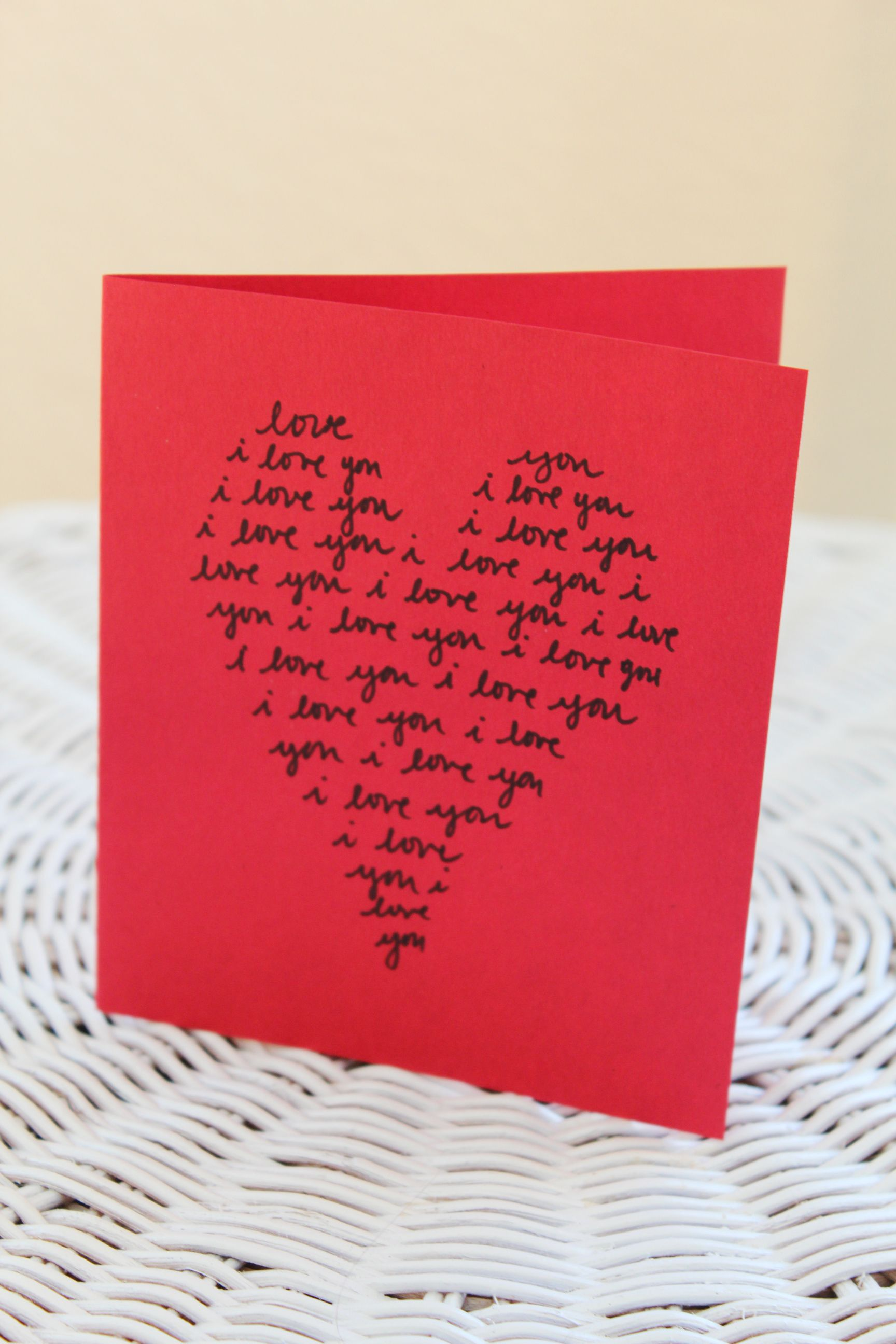 15 DIY valentines for the one you love Handmade Cards
