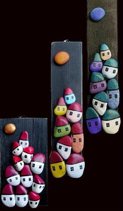 çakıl Taşı Boyama Sanatı Rocks Pebble Art Pebble Painting