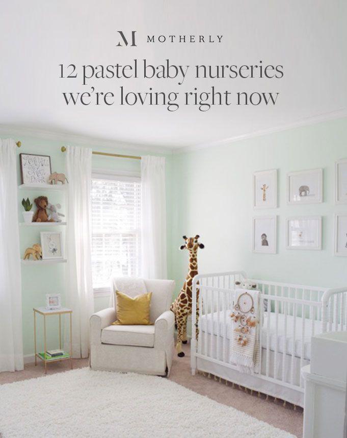 Trending 12 Pastel Baby Nurseries We Re Loving Right Now
