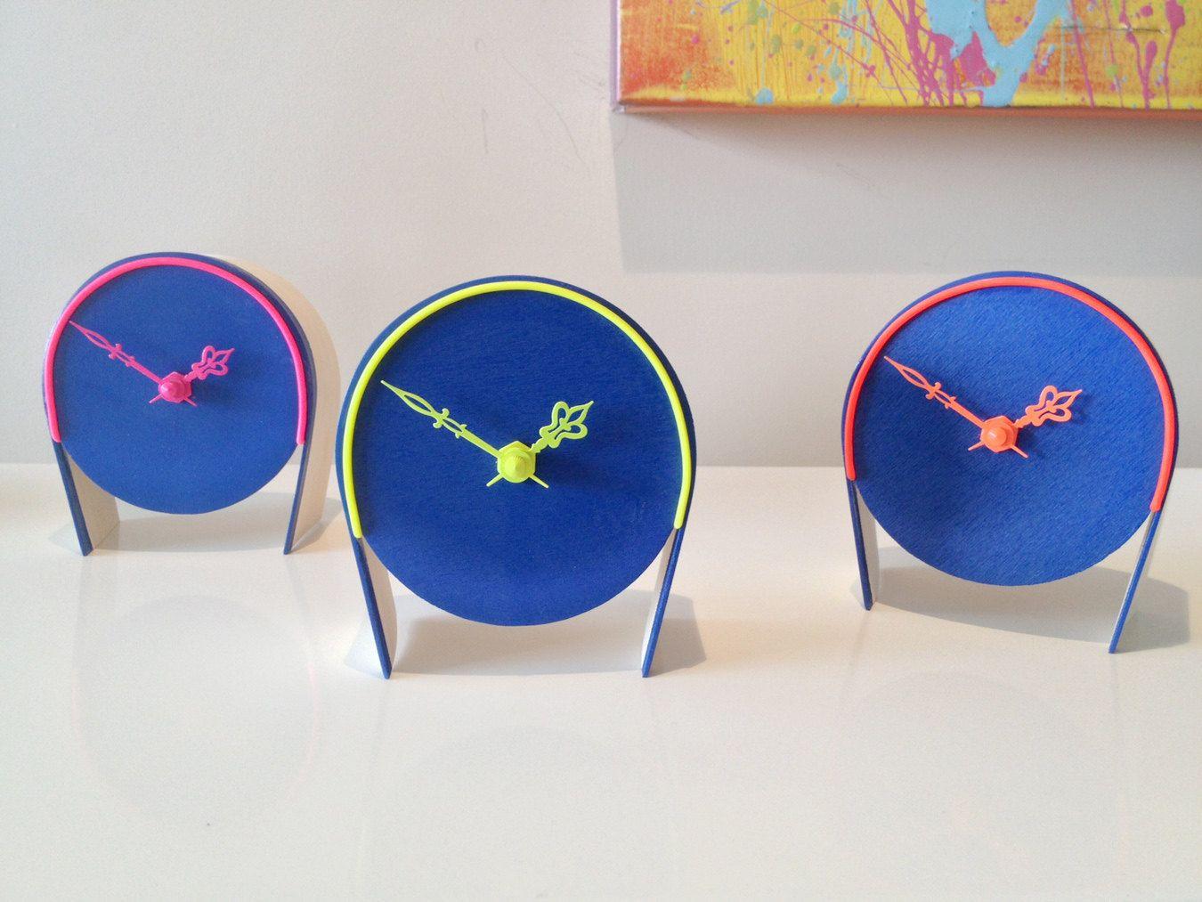 Neon clocks by Brandon LeNoir Neon clock, Neon, Clock