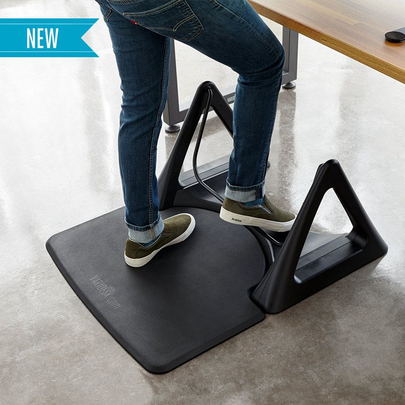 The Activemat Rocker Standing Desk Foot Rest Floor Mat Vari Standing Desk Mat Anti Fatigue Mat Best Standing Desk