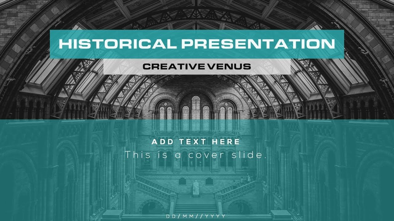 how to create history presentation in microsoft office powerpoint, Modern powerpoint