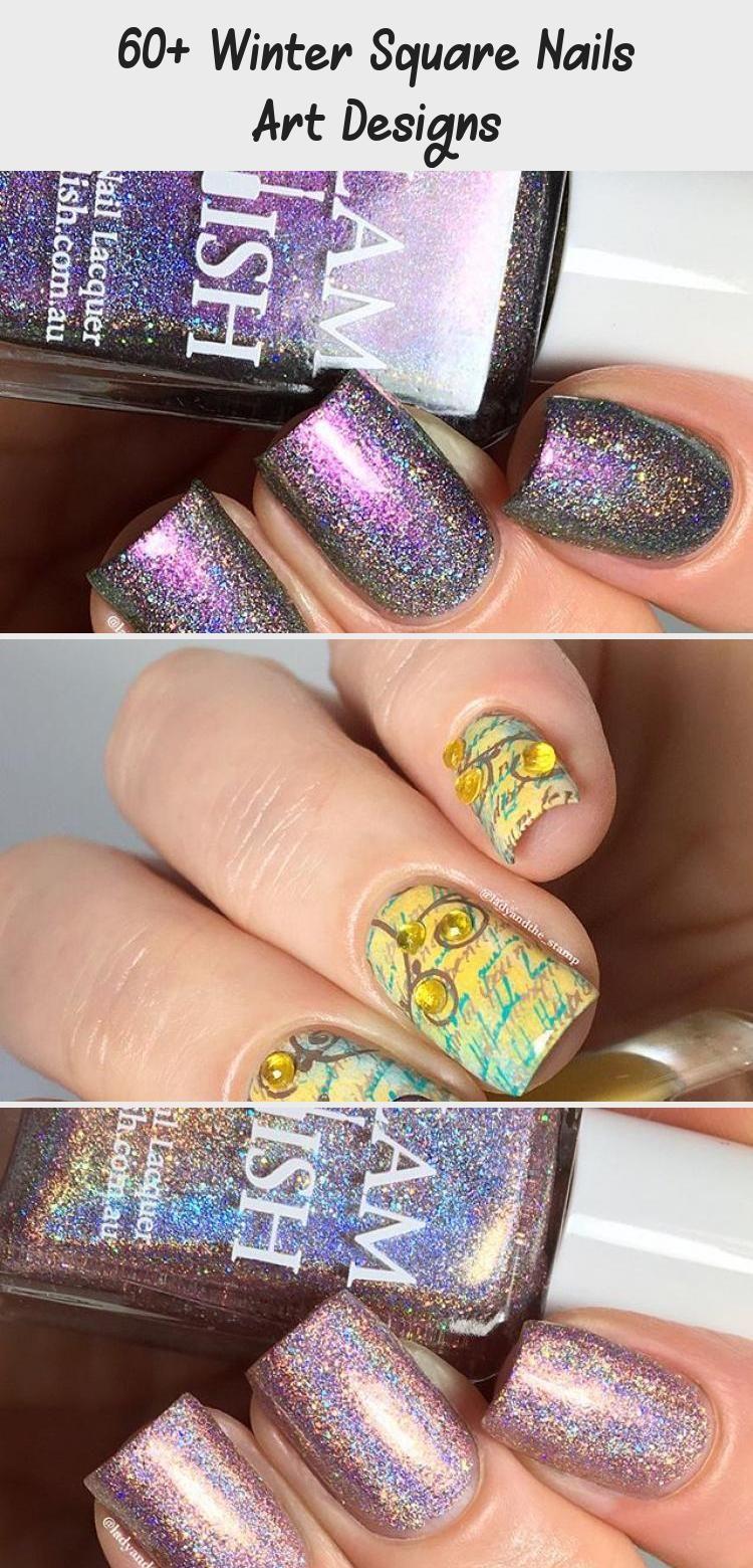 Photo of 60+ Winter Square Nails Art Designs – Tattoo Blog