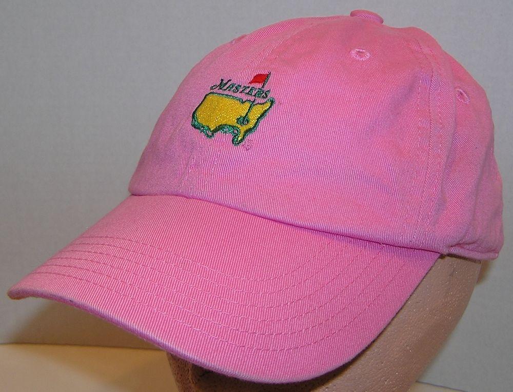 The Masters American Needle Brand Pink Women s Baseball Strapback Hat PGA  Tour  AmericanNeedle  BaseballCap b0e2b1c93f6a