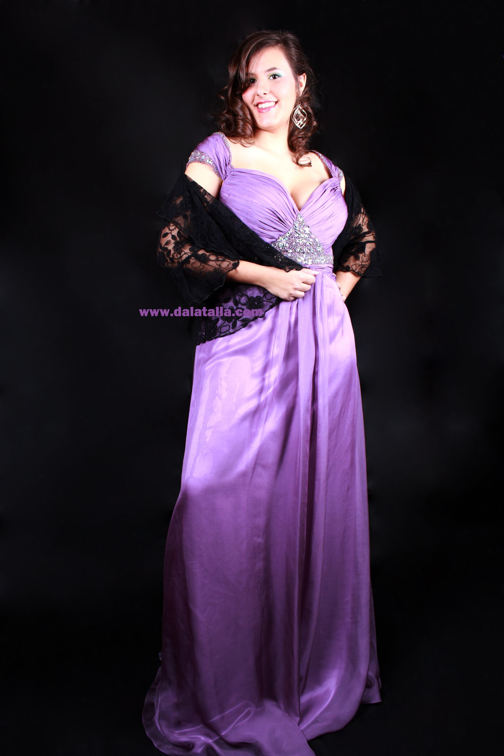 Vestido de fiesta talla grande | Clothes | Pinterest | Tallas ...