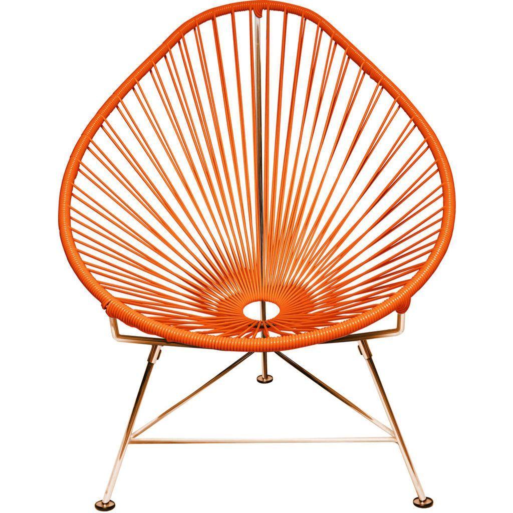 Innit Designs Junior Acapulco Chair Copper Base Acapulco Stoel Stoelen Acapulco
