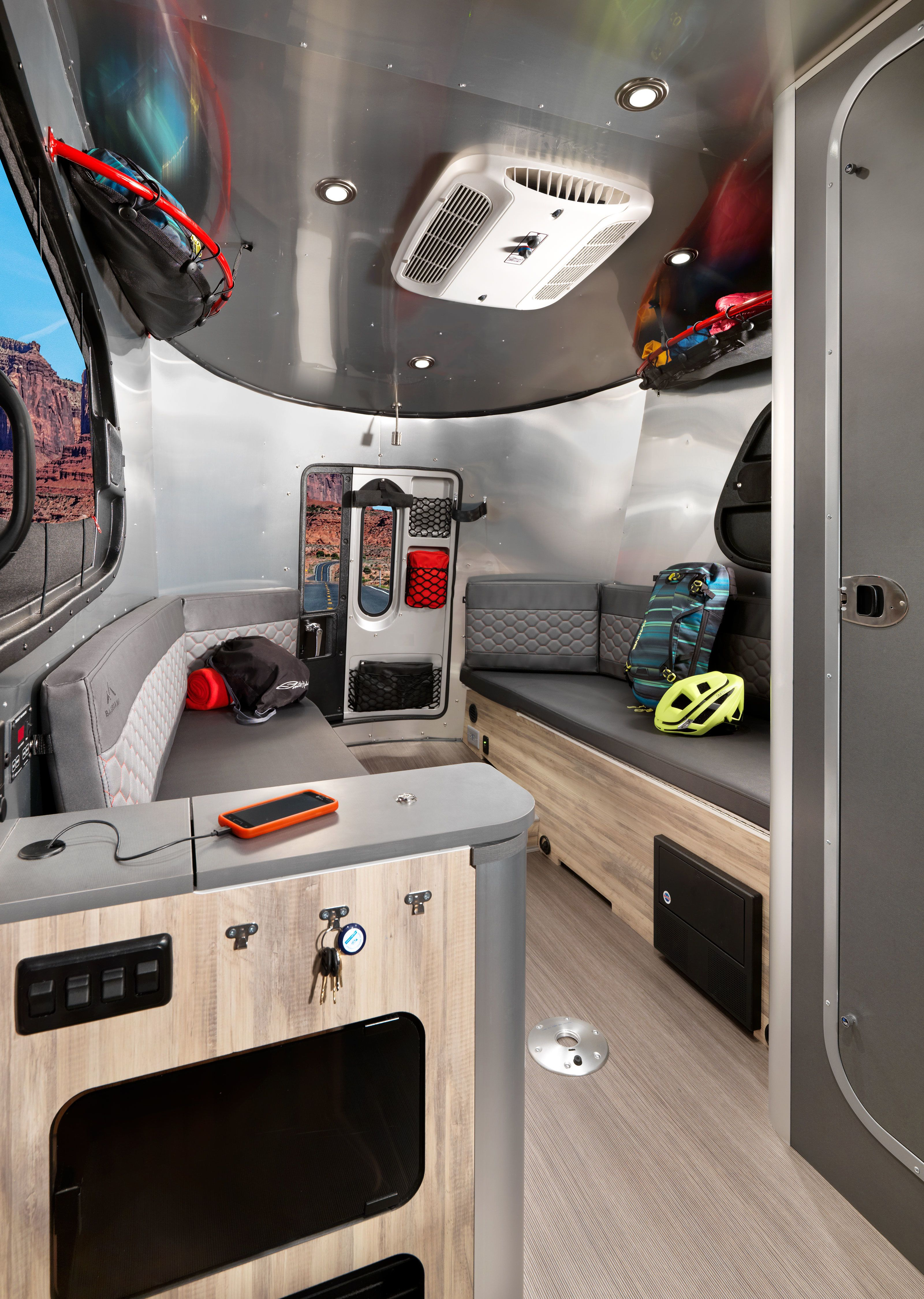 Photo 6 Of 14 In Airstream S Basecamp Is A Lightweight Trailer