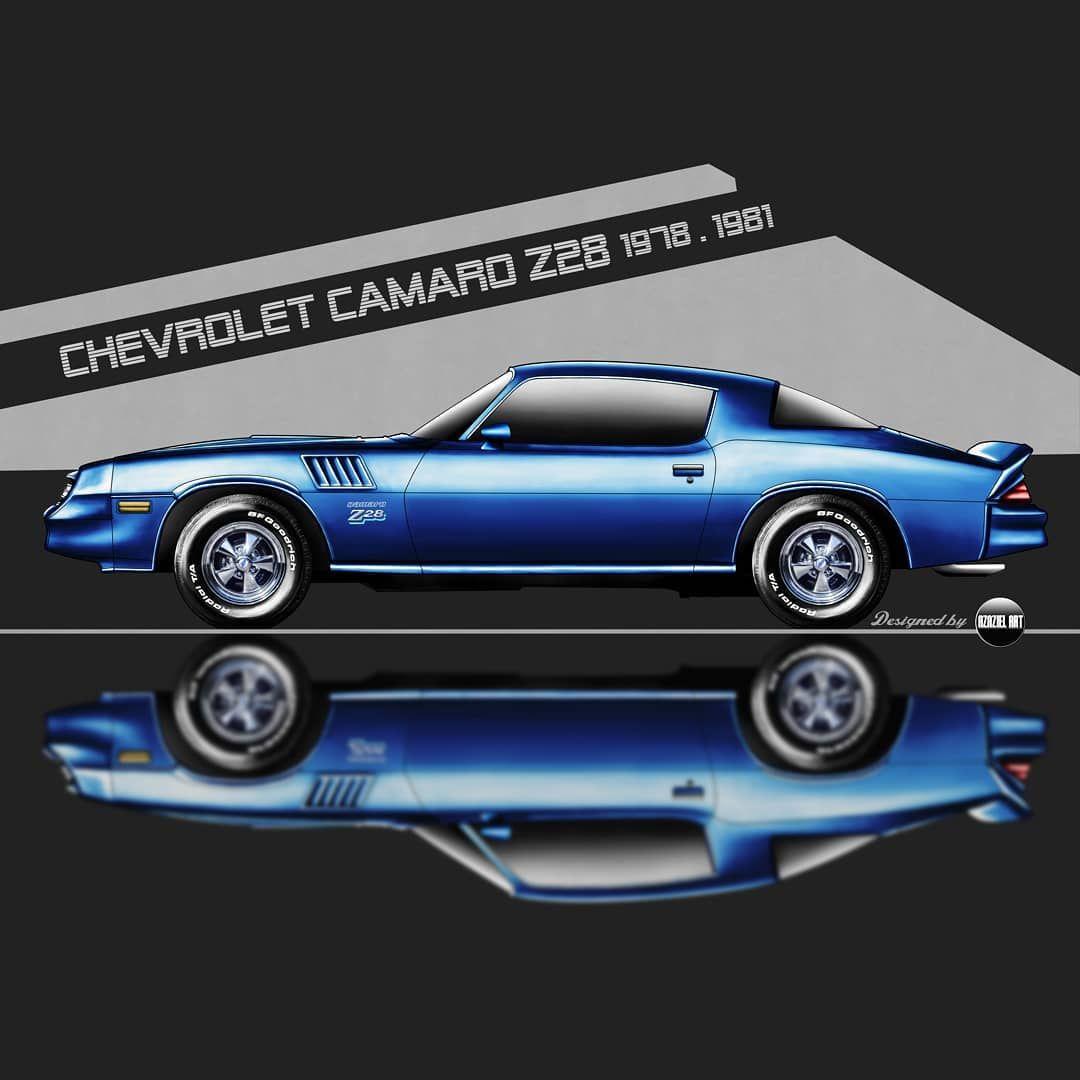 Chevrolet Camaro Z28 In Stranger Thing Billy Hargrove Car