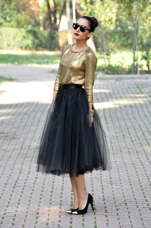196713710 Tulle Skirt by The Proje2ct, new year's eve outfit idea | Fashion ...