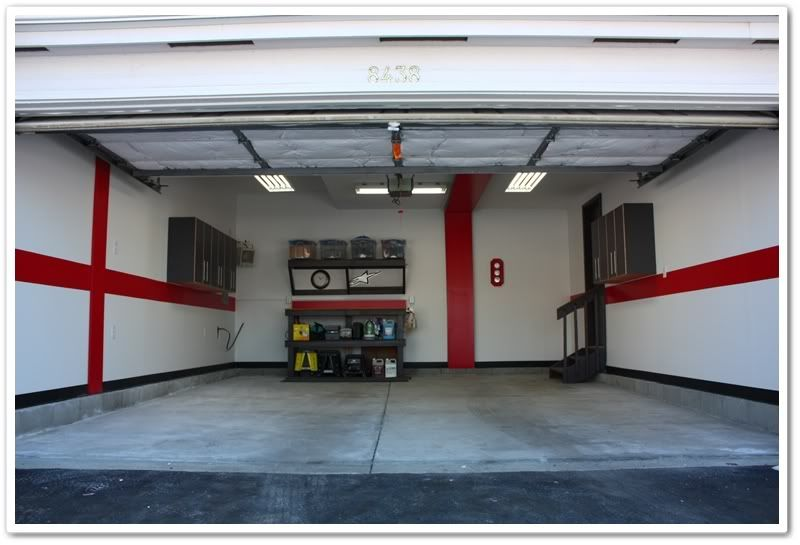 interior garage wall paint colors home painting. Black Bedroom Furniture Sets. Home Design Ideas